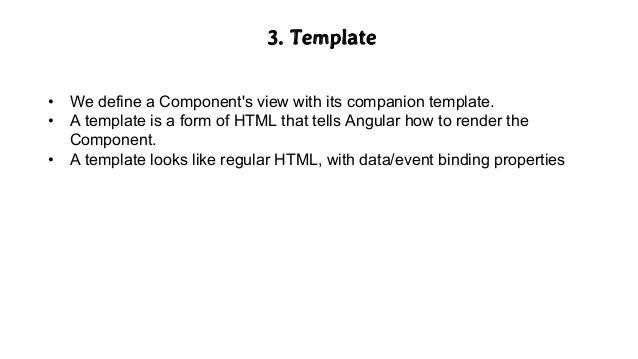 Angular2 with type script sample angular template pronofoot35fo Gallery