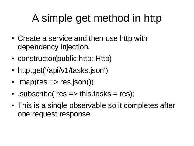 Angular 4 The new Http Client Module