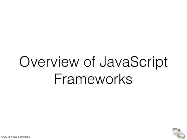 Overview of the AngularJS framework