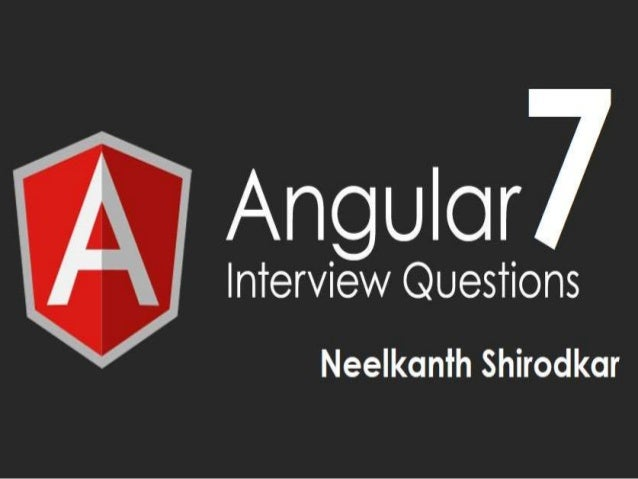 1. What's new in Angular 7? Certain tools are optimized in the new version of Angular, let us see what the tools are: Angu...