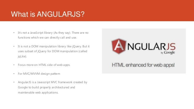 Introduction to Angularjs Slide 2