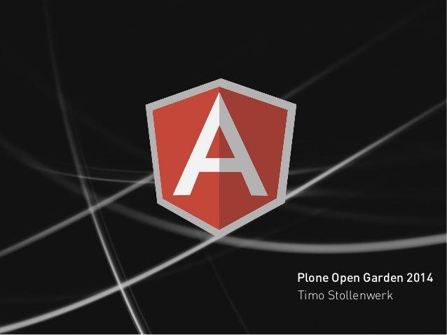 Plone Open Garden 2014 Timo Stollenwerk