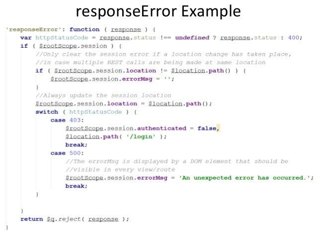 Angularjs Http Interceptors Explanation And Examples