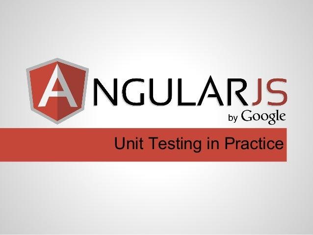 Unit Testing in Practice