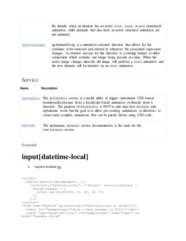 Angular 7 Input Type Date
