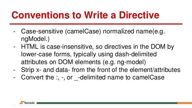 Creating Custom AngularJS Directives Part I – The Fundamentals