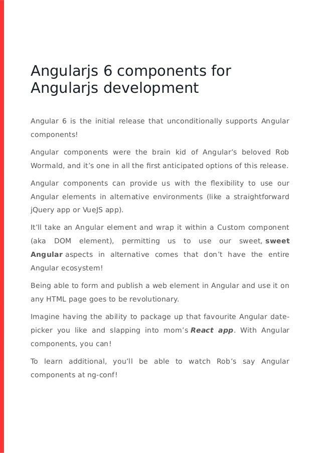 Angular 6 Datepicker