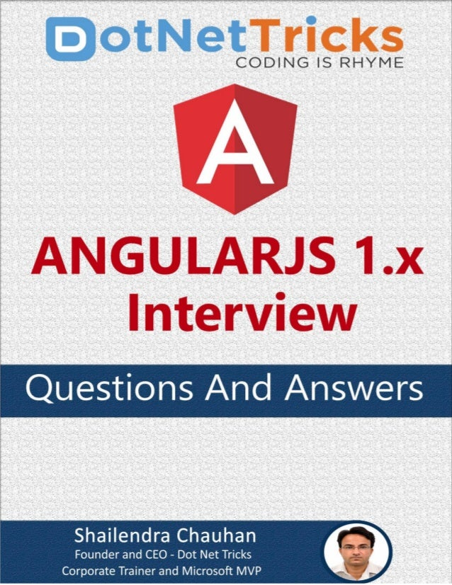 Page1 AngularJS Interview Questions and Answers All rights reserved. No part of this book can be reproduced or stored in a...