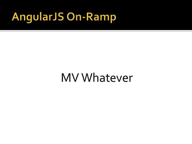 MV Whatever