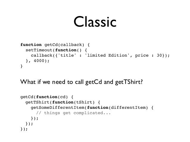 q and Promises in AngularJS