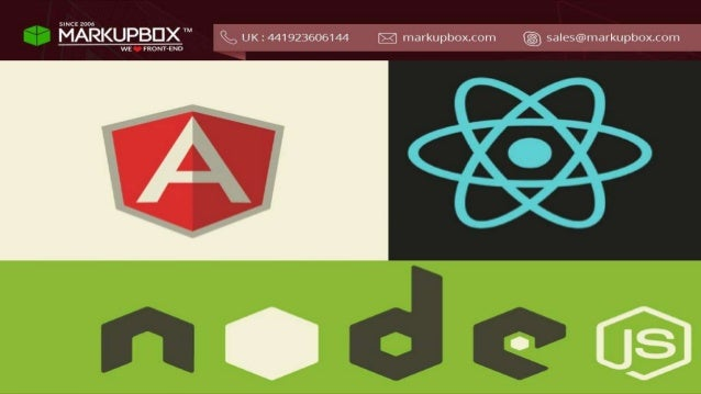 AngularJS vs React JS vs Node JS: Which is Best For Web Development ?