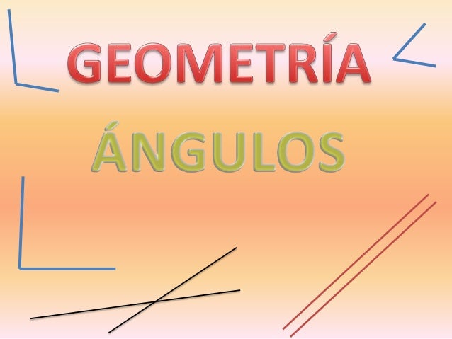En nuestro entorno siempre que vemos una intersección entre líneas rectas observamos la presencia de ángulos