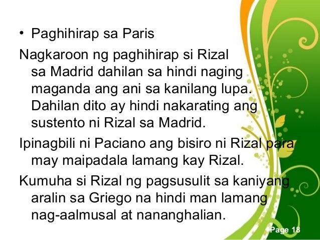 Ang unang pangingibang bansa ni rizal free powerpoint templates toneelgroepblik Image collections