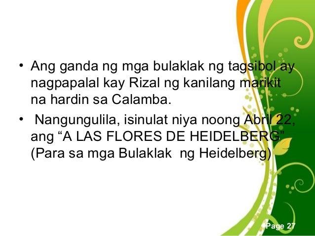 ng include ng template - ang unang pangingibang bansa ni rizal