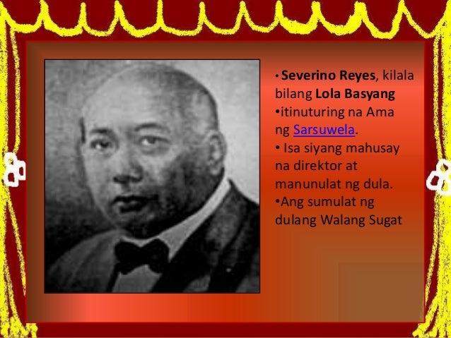 Ang zarzuela at walang sugat Slide 2