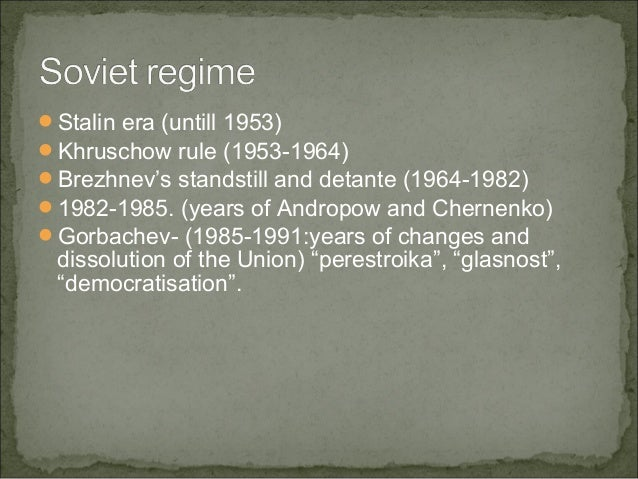gorbachevs revolution of perestroika and glasnost history essay These policies were called glasnost and perestroika gorbachev's glasnost plan called for political openness it addressed personal restrictions of the soviet people glasnost eliminated remaining traces of stalinist repression, such as the banning of books and the much-loathed secret police newspapers could criticize the.