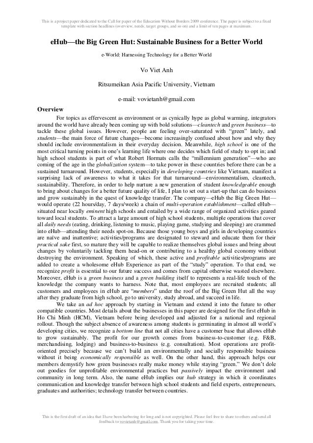 This is a project paper dedicated to the Call for paper of the Education Without Borders 2009 conference. The paper is sub...