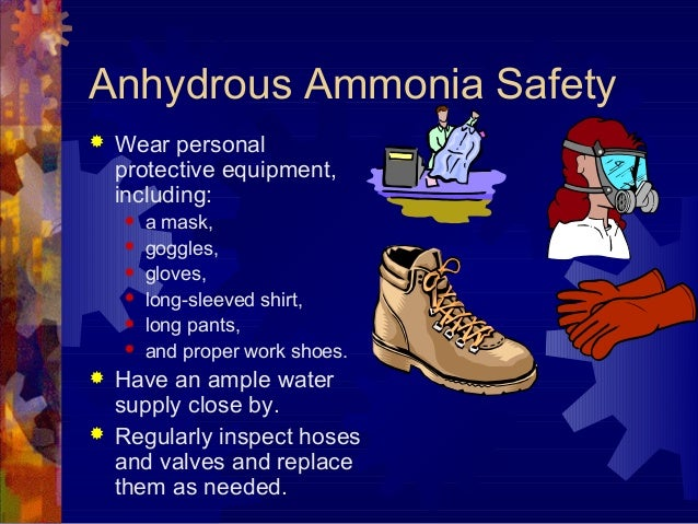 Anhydrous Ammonia Safety