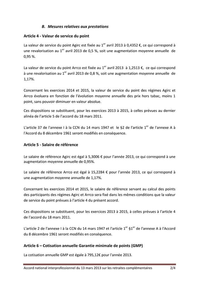 B. MesuresrelativesauxprestationsArticle4‐ValeurdeservicedupointLavaleurdeservicedupointAgircestfixée...