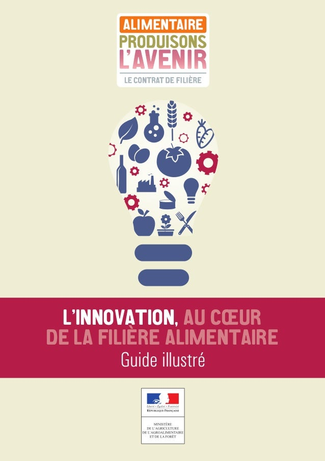 L'INNOVATION, AU CŒUR DE LA FILIÈÈRE ALIMENTAIRE Guide illustré
