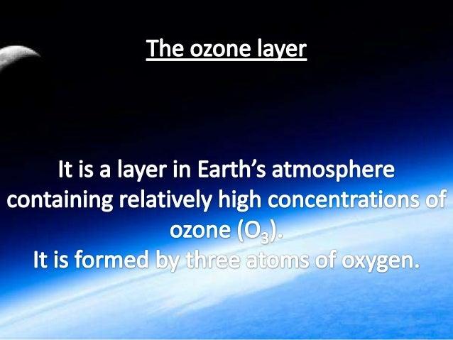 ozone layer Slide 2