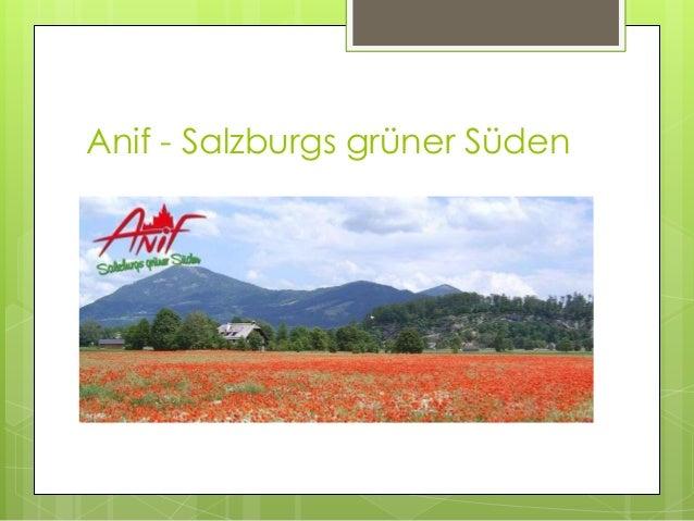 Anif - Salzburgs grüner Süden