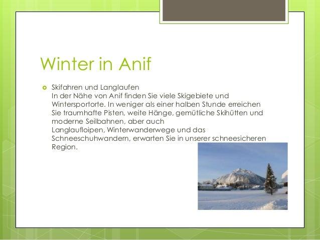 Winter in Anif   Skifahren und Langlaufen In der Nähe von Anif finden Sie viele Skigebiete und Wintersportorte. In wenige...