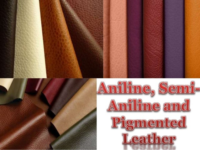Aniline Semi Aniline And Pigmented Leather
