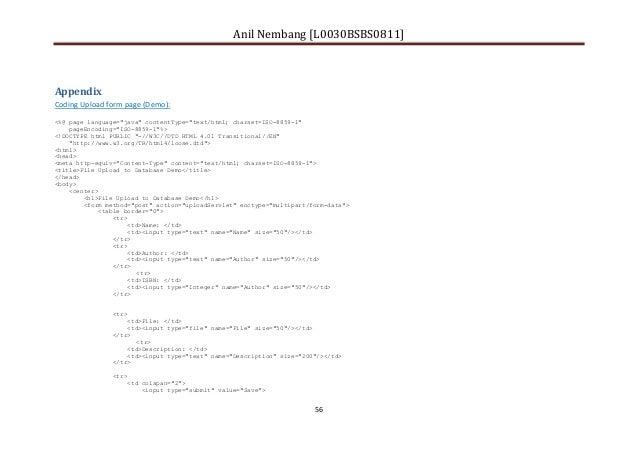 Anil Nembang-Computing Project Report Sample