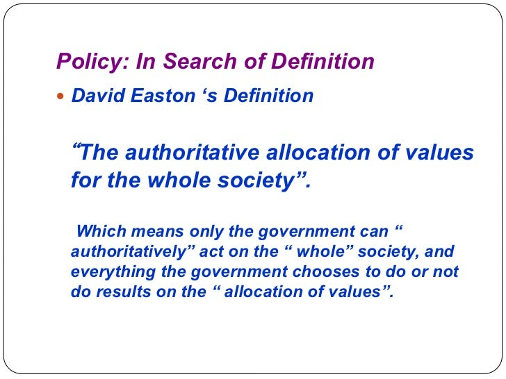 ppt on understaing policy Slide 2