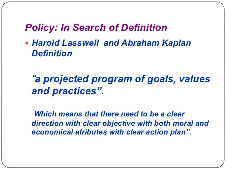 ppt on understaing policy Slide 3