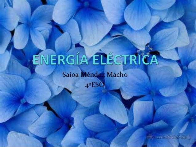 Saioa Méndez Macho 4ºESO