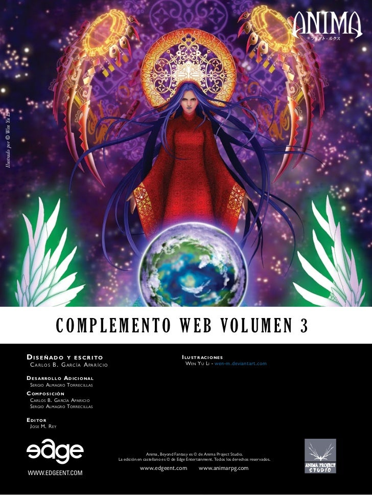 Ilustrado por © Wen Yu Li                                           Complemento web Volumen 3                            D...