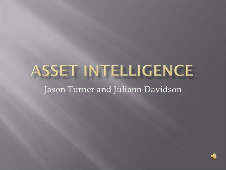 Jason Turner and Juliann Davidson