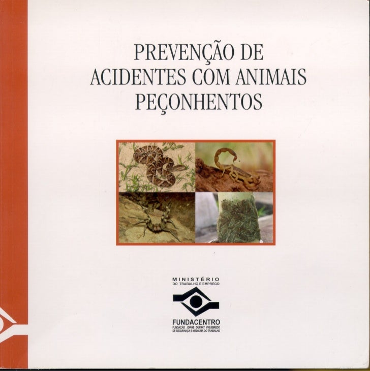 PREVENÇÃO DEACIDENTES COM ANIMAIS    PEÇONHENTOS