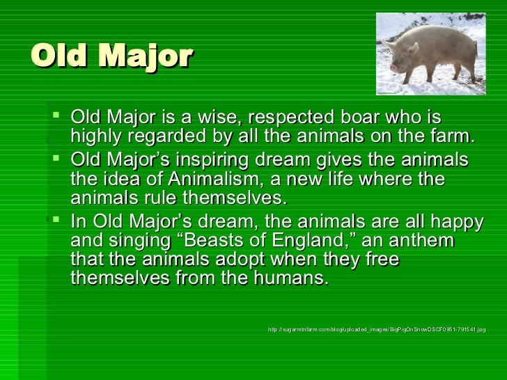 main thesis of animal farm