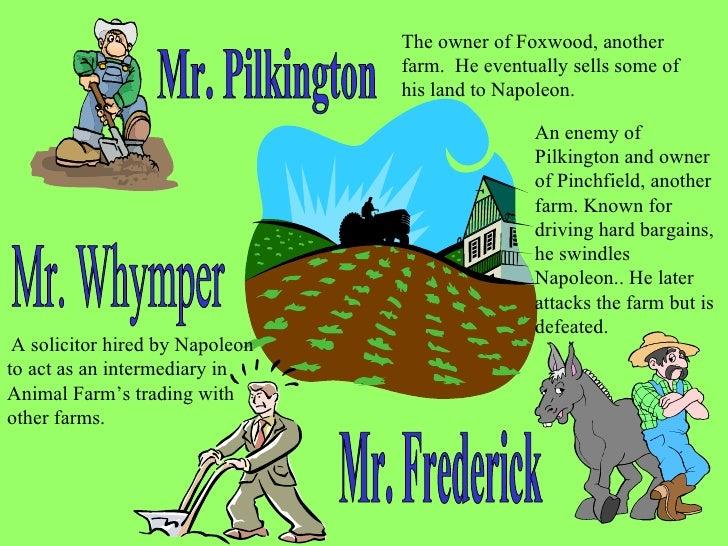 Mr Whymper Animal Farm