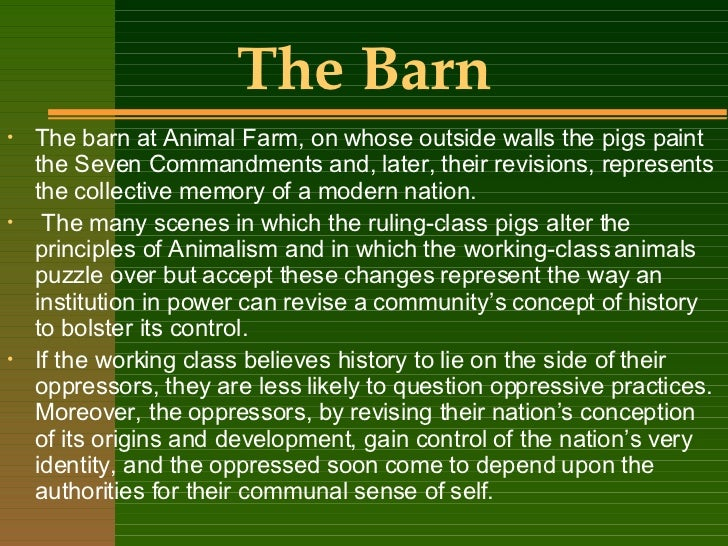what are some symbols in animal farm