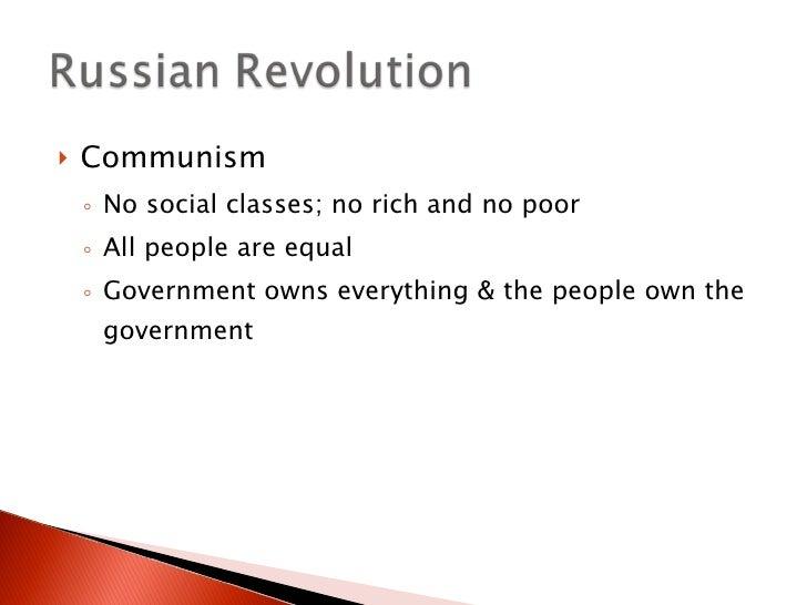 a communist society essay