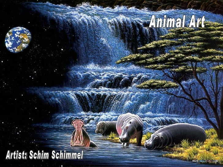 Artist: Schim Schimmel Animal Art