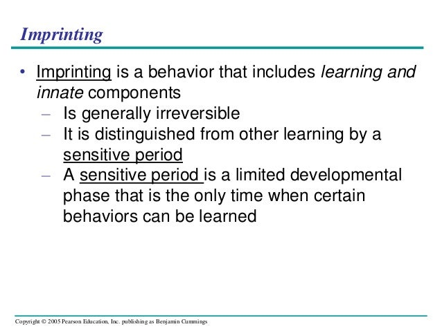 imprinting examples
