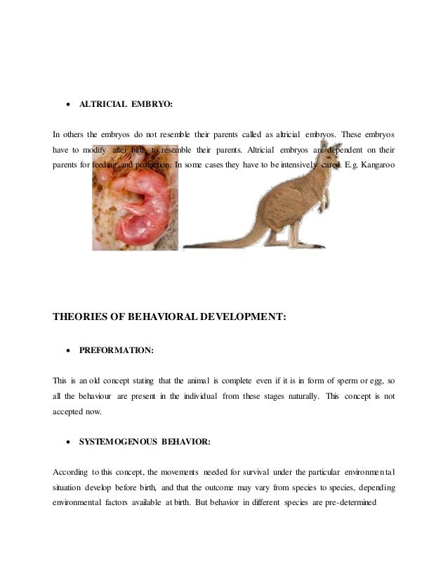 Animal behavior final notes