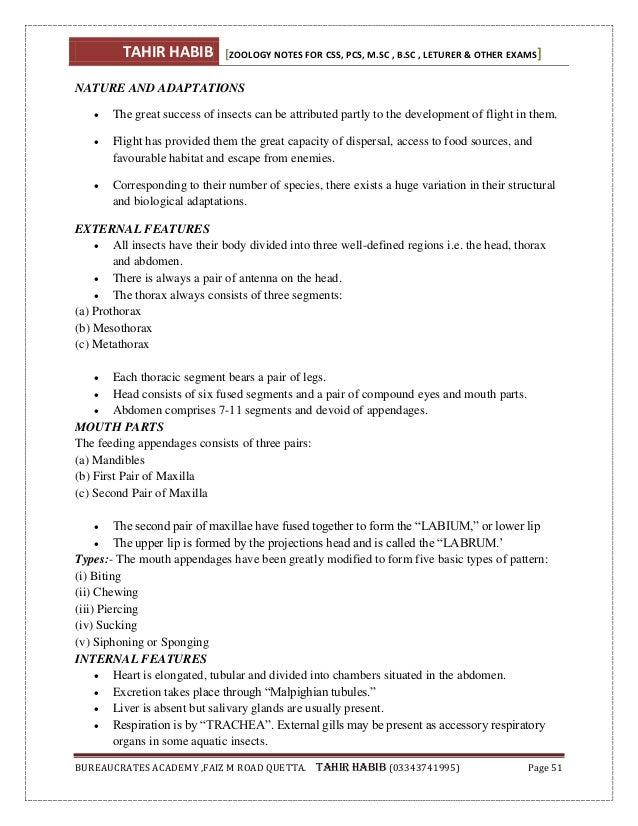 Animal diversity (Zoology) notes