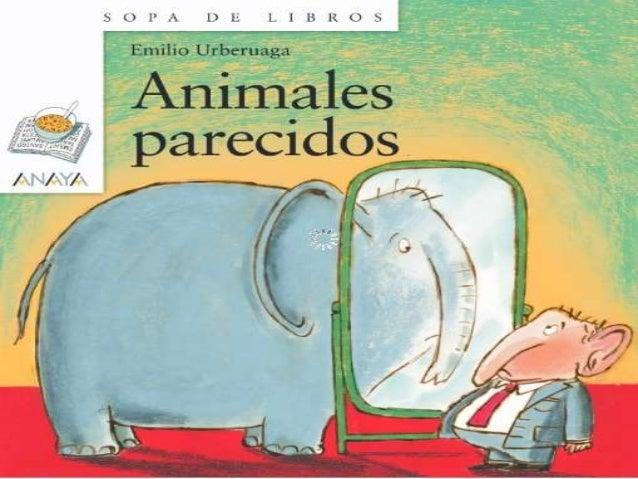 Animales parecidos. primeras páginas 2