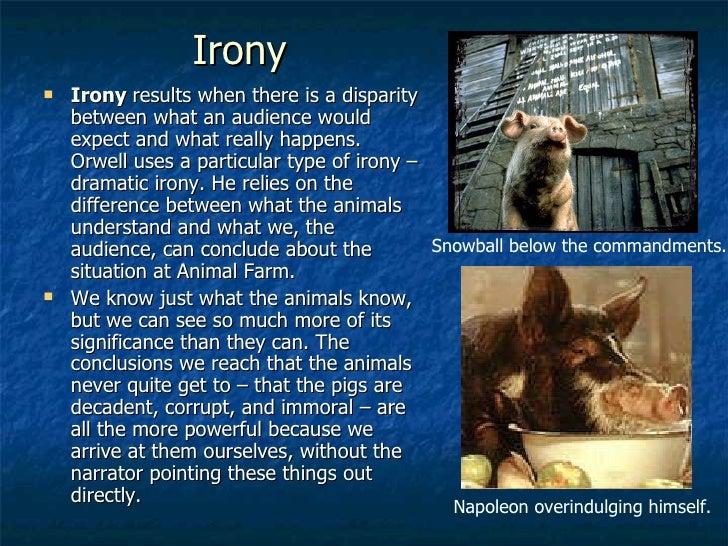 Satire in animal farm essay