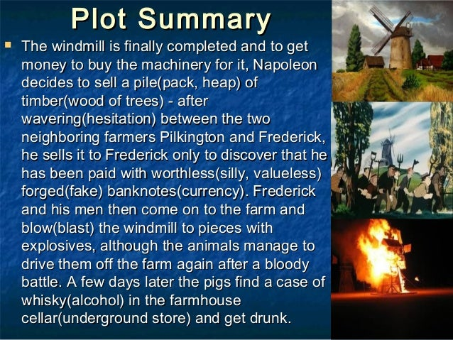 Animal farm plot summary