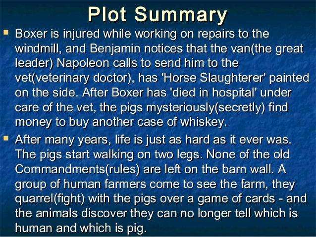 characteristics of boxer in animal farm