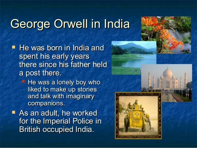 an idea of self governemnt through the animals in the animal farm by george orwell Essay about power corrupts in animal farm can to improve the farm george orwell had gotten the idea of animal animals lost their voice in the government.