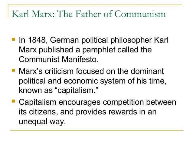 karl marx capitalism essay example In this essay, i argue that karl marx's explanation of capitalism should compel the average person to action and change first, i explain marx's idea of capitalism and how it hinders the average person second, i discuss how marx argues for consciousness, criticism, anti-alienation, and anti-exploitation.