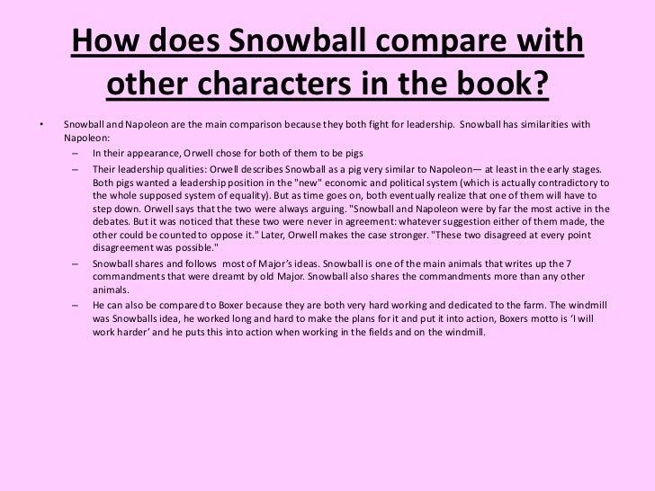 essays on napoleon and snowball